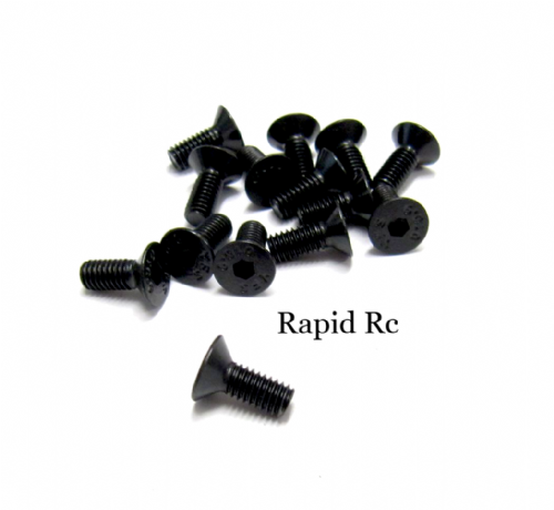 M4 x 8mm Counter sunk High Tensile Hex Bolts